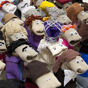 Sock Puppet Sitcom Theater | AbFab Queen SPST Gallery