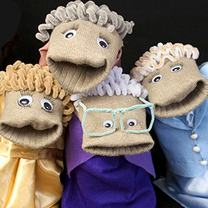 Sock Puppet Sitcom Theater | Golden Girls SPST Gallery