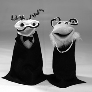 Sock Puppet Sitcom Theater | Glamor Puss and Frenchie SPST Gallery